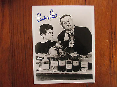 BUTCH PATRICK(The Munsters/Al Lewis/Eddie Munster)Signed B & W Glossy 8X10 PHOTO