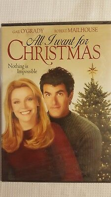 All I Want For Christmas (DVD, 2008, Widescreen) New