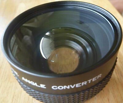 PHOTOCO Video Wide Angle Converter - Made in Japan - with caps