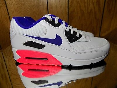 outlet store 052fd 31270 NIKE AIR MAX 90 Essential Ultramarine Pack White Solar Red Infrared  537384-136 s