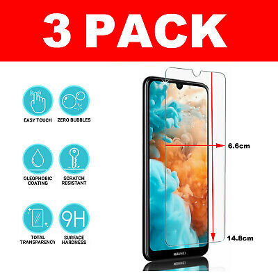 For Huawei Y6 (2019) Tempered Glass Screen Protector - BRAND NEW!!