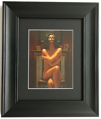 Just the Way it Is by Jack Vettriano - Erotic - BLACK EDITION Framed Art Print