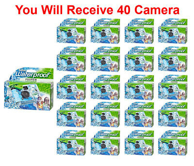 40x Fuji Quicksnap One Use Underwater Disposable Waterproof Camera Exp. 03/2020