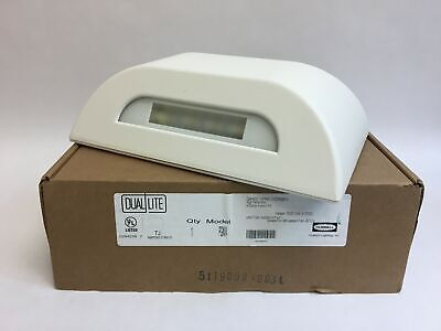 Hubbell Lighting Dual-Lite Battery Powered Dual Voltage LED Emergency Light PGNW
