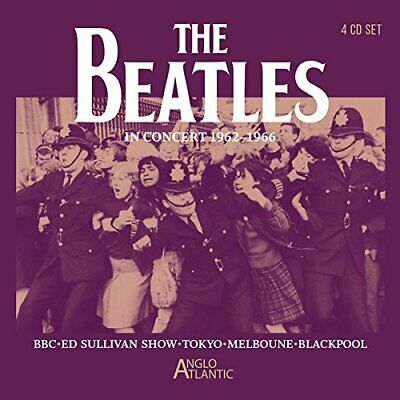 BEATLES, THE-In Concert 1962 - 1966 (4CD) CD NUOVO