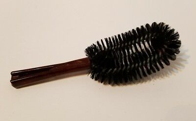 Vintage Stanley Clothes Brush - Lint Brush Brown Handle 6 3/4""