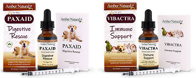 Amber Technology Combo Pack - Paxxin and Vibactra Plus 1 Oz each 0r 4 Oz each