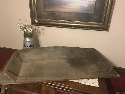Antique Primitive Old Wood Buckboard Wagon Horse Drawn Carriage Seat