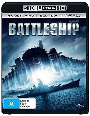 Battleship 4K Ultra HD : NEW UHD Blu-Ray
