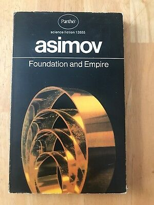 Foundation and Empire by Isaac Asimov (1971 UK Panther Paperback) Good Book