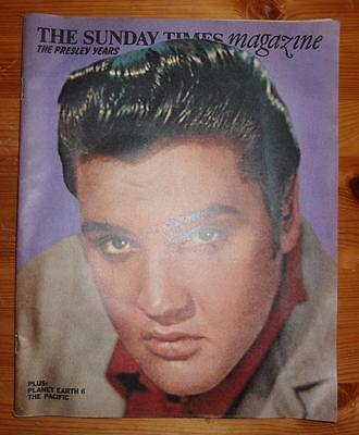 The Sunday Times Magazine 1971 The Presley Years