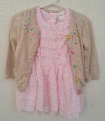 8a0346593 BABY GIRLS H&M Easter Outfit, Size 9-12 Months - $15.00 | PicClick