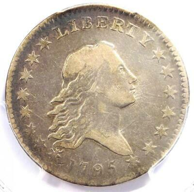 1795 Flowing Hair Bust Half Dollar 50C - Certified PCGS VF Detail - Rare Coin!
