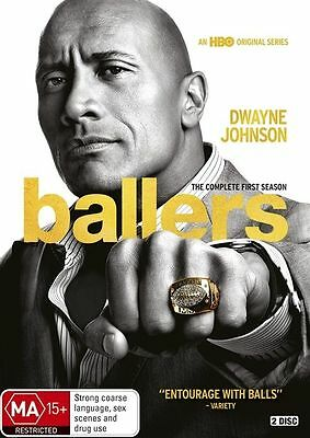 Ballers : Season 1 (DVD, 2-Disc Set) R-4- NEW AND SEALED- FREE POST IN AUSTRALIA