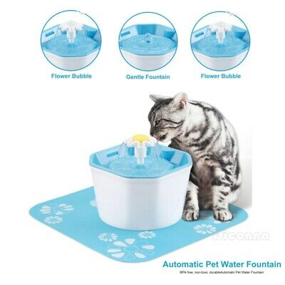Intelligent Little Pet Fountain Automatic Cat Dog Kitten Water Drinking Filter Fine Workmanship Dishes, Feeders & Fountains