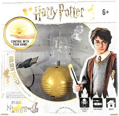 Harry Potter Golden Snitch Flying Helicopter Ball Quidditch Fantastic USB Gift