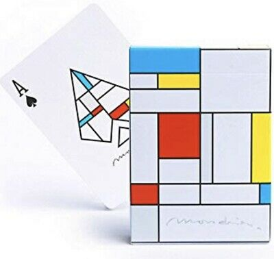 Mondrian Broadway Playing Cards Deck Poker Size USPCC Limited Edition New Sealed