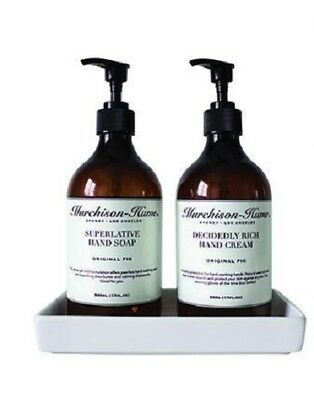 Murchison Hume Hand Care Duo Set with Tray New Fig Hand Cream & Liquid Hand Soap