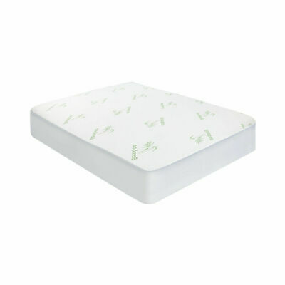 Giselle Bedding Bamboo Fiber Fully Fitted Waterproof Mattress Protector Queen