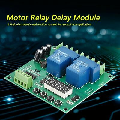 YYB-5 12v 24v Motor Forward / Reverse Control Board Two Relay Delay Timing Cycle