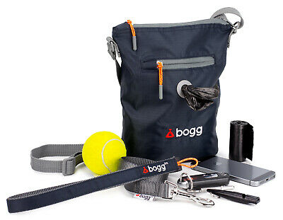 bogg - Dog walkers bag. Poop bag dispenser & waste carrier | roll Purple Bramble