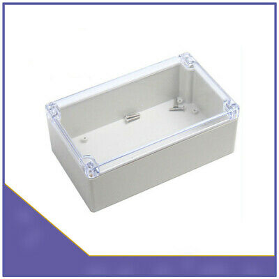 158x90x60mm Waterproof Clear Cover Case Electronic Project Enclosure Plastic Box