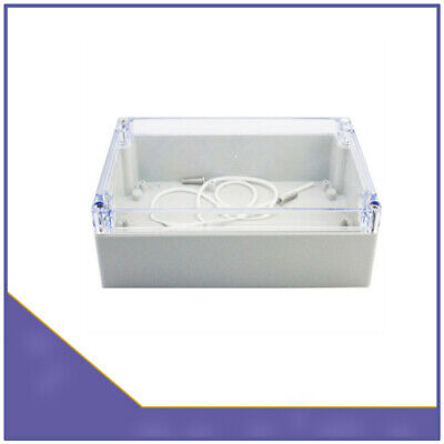 Waterproof 158x90x60mm Clear Cover Plastic Case Electronic Project Enclosure Box