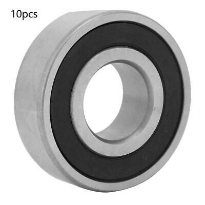 10Pcs 6203RS Bearing Steel Deep Groove Ball Bearing 17mm