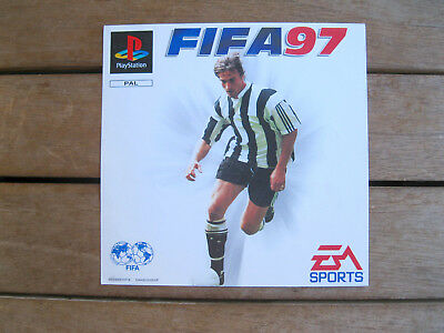 Fifa 97 - Playstation 1 - Front Cover Originale - No Disco