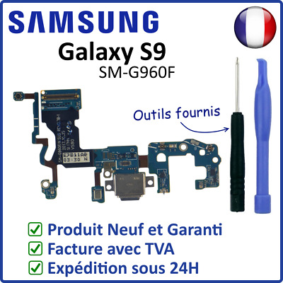 Nappe Dock Flex Connecteur Usb De Charge + Micro Samsung Galaxy S9 G960F Outils