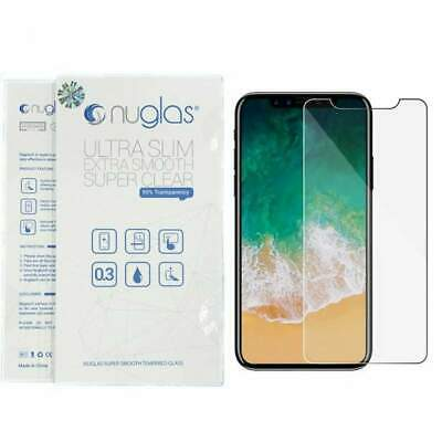 iPhone X NUGLAS Tempered Glass Screen Protector Premium Protection