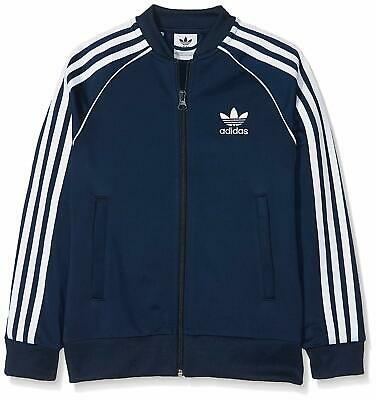 Adidas Originals Boys Superstar Tracksuit Top All Ages From 7/8 To 15/16 Years