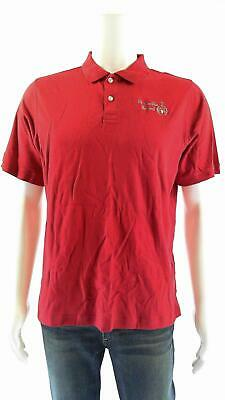 Lands End Boys size 18/20 Polo Rugby Logo Kids Shirt Top Short Sleeve Tee Cotton