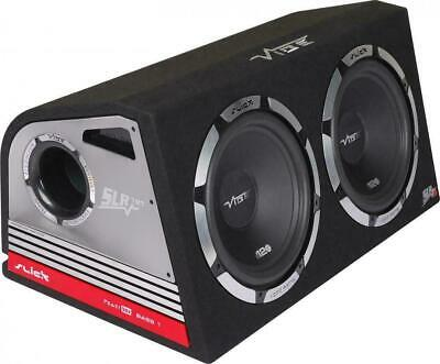 Vibe SLICK SLR 12 Twin Active 800W RMS Amplified Car Audio Sub Subwoofer