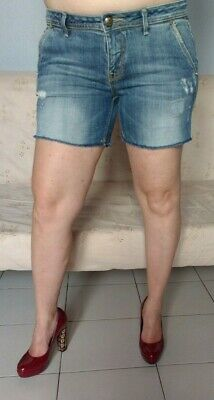 90Picclick Donna Fracomina 10 Jeans Shorts Eur W32 It Skinny n0P8Okw