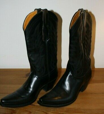 61d3914aa3f R SOLES BY Judy Rothchild Leather Western Cowboy Boots Womens EU 40 UK 7 US  9B