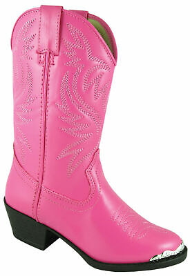 Smoky Mountain Boots Toddler Girls Mesquite Hot Pink Faux Leather
