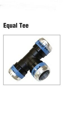 NEW Keaser SmartPipe+ Aluminum Air Pipe  D50 Airline Equal Tee 50mm AN82040050