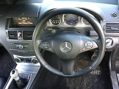 Mercedes C Class W204 Steering Wheel