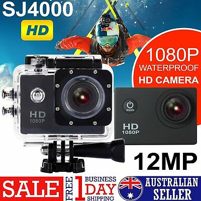 SJ4000 HD 1080P Waterproof Sports Camera DV Action Video Record for Go pro fit