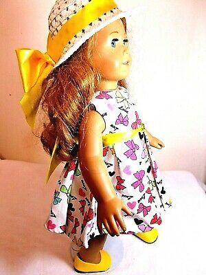 Doll Clothes SALE Hat , Shoes , Dress Fit American Girl  / Other 18 in.Dolls