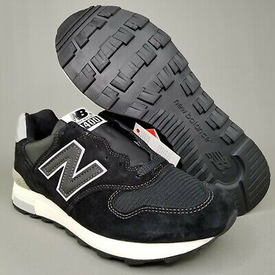 huge discount c5685 246ba NEW BALANCE 1400 Suede Running Shoes Size Mens Athletic Black White Made in  USA