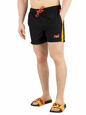 Superdry Men's Beach Volley Swimshorts, Black
