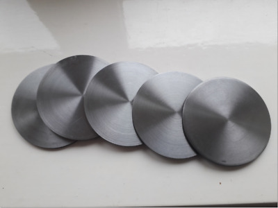 5 x   75mm mild steel metal discs  x  3mm thick