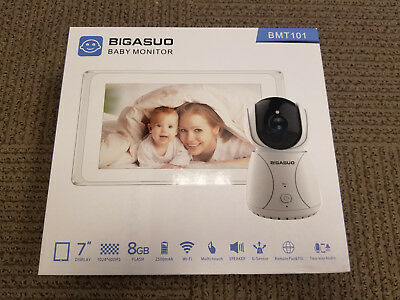Baby Monitor - 7'' Display, 8GB, Multi Touch, Speaker, Remote Pan&Tilt -