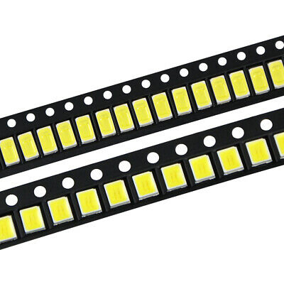 100Pcs/Lot  LED Diodes White 2835 5730 505 SMD LEDs Diode Chip Lamp Beads Bright