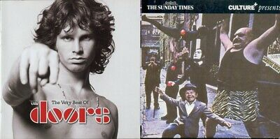 The Doors Very Best Of 20 Track + Strange Days CD Album Greatest Hits Collection