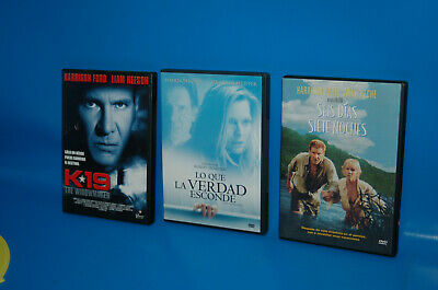 Lote 3 peliculas  DVD-especial HARRISON FORD