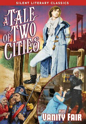 Silent Literary Classics: A Tale of Two Cities (1911) / Vanity Fair NEW DVD