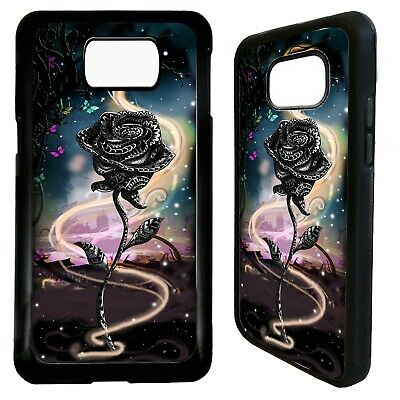 Rose flower floral pretty girly art case cover for Samsung Galaxy S10 S10e plus